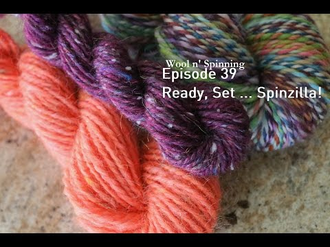 Wool n' Spinning :: Episode 39 - Ready, Set ... Spinzilla!