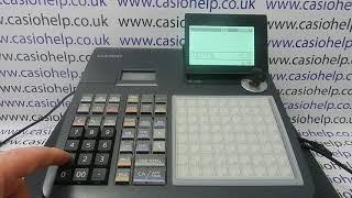 E008 Error Code Casio SE-C450 SEC450 SE C450 Cash Register