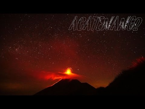 Hiking A Volcano  - Acatenango - Antigua Guatemala - Vlog - Backpacking Central America