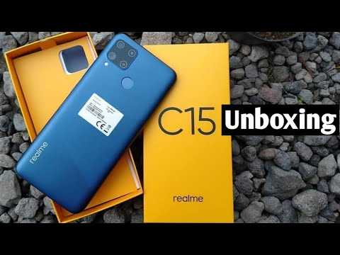 Realme C15 Unboxing And First Look🔥🔥