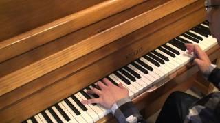 pitbull ft chris brown international love piano by ray mak