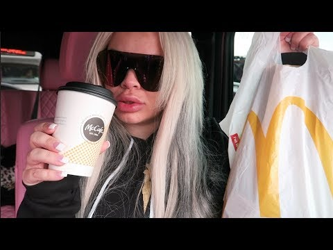 HUNGOVER MCDONALD'S BREAKFAST CAR EATING SHOW (MUKBANG) | WATCH ME EAT
