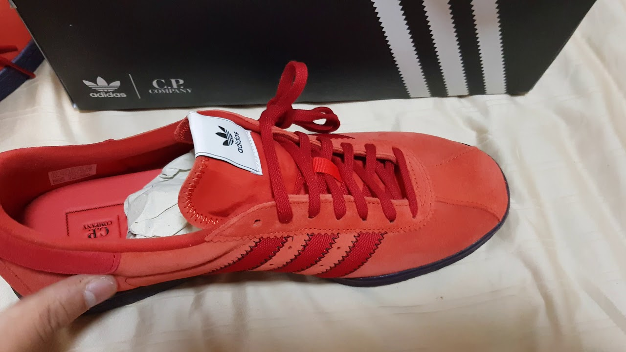 buy online a9527 9bb93 Unboxing Adidas Tobacco X CP Company