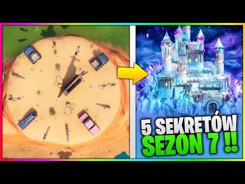 5 RZECZY O KTÓRYCH NIE WIESZ W FORTNITE SEZON 7 !!!