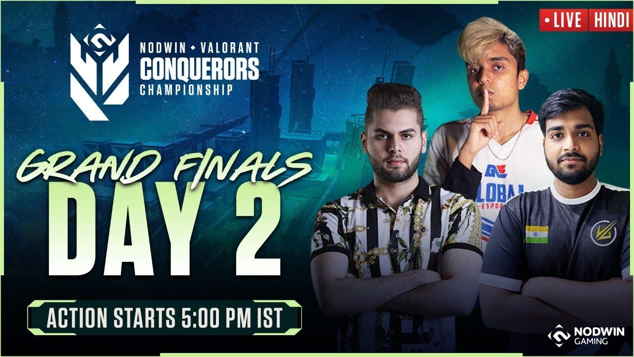 [HINDI] Valorant Conquerors Championship | Grand Finals – Day 2