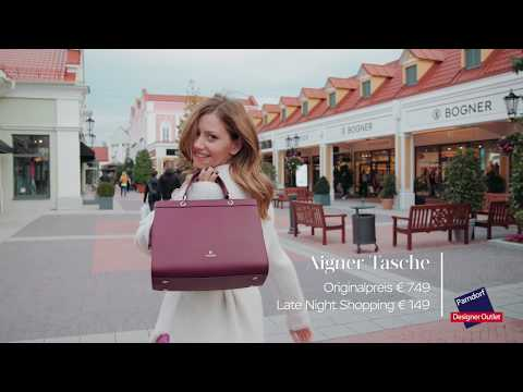 Designer Outlet Parndorf Late Night Shopping am 7. November 2019.mp4