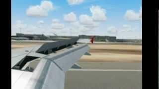 Air Berlin Landung Palma de Mallorca [HD / 3D]