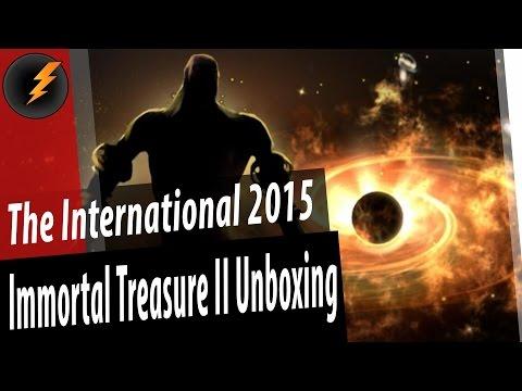 видео: immortal treasure ii - Открываем Сундуки the international 2015 unboxing [dota 2]