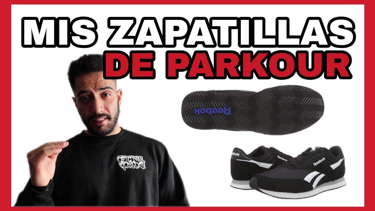 el más nuevo aeede 7bd66 MIS ZAPATILLAS de PARKOUR - Review.