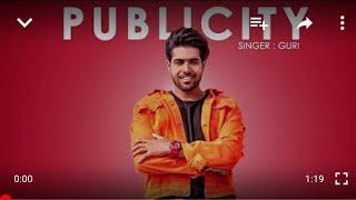 GURI - PUBLICITY (Full Song) DJ Flow  // WhatsApp status video