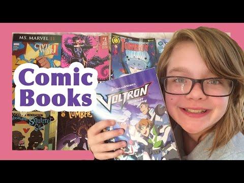 Comic Books- Lumberjanes, Voltron, Squirrel Girl, Tomboy, Dr Strange & More   Day 1213   ActOutGames