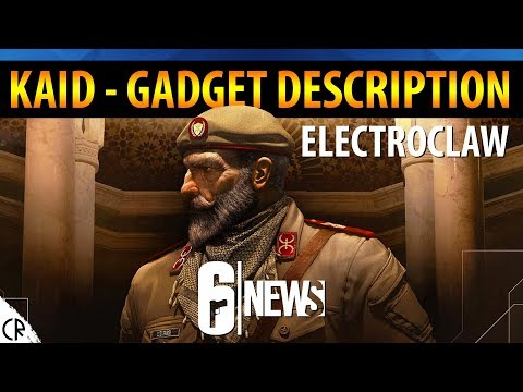 Kaid Electroclaw Gadget Description - 6News - Tom Clancy's Rainbow Six Siege