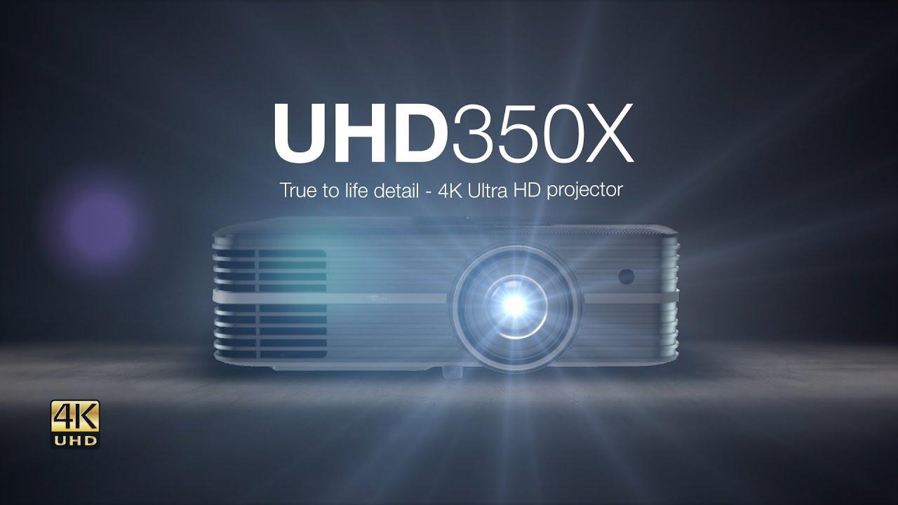 UHD350X True to life detail - 4K Ultra HD projector - Optoma