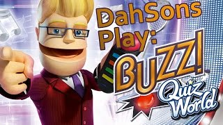 DahSons Play: Buzz!: Quiz World - 6 Player Game