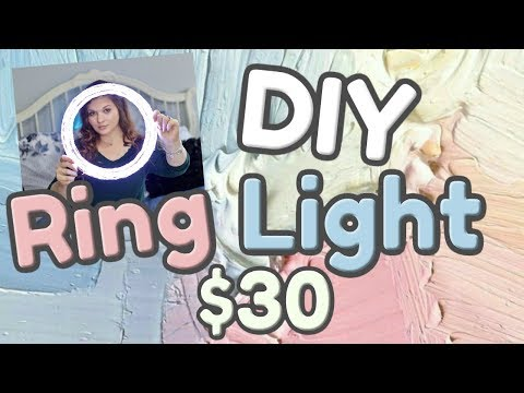 DIY Dimmable Ring Light - Gabrielle Marie