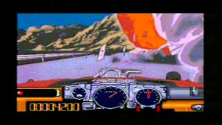 Road Avenger Sega Mega CD Gameplay - Classic Retro Game Room