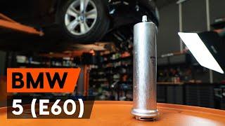 Démontage Filtre à Carburant BMW - vidéo tutoriel