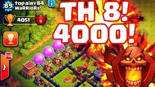 Clash of Clans Legends! Clash of Clans Champion League TH 6&8! 1080P 60FPS