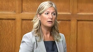 Liberal MP Leona Alleslev crosses the floor to join Tories