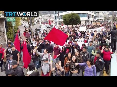 ecuador-protests:-demonstrators-protest-fuel-price-hike