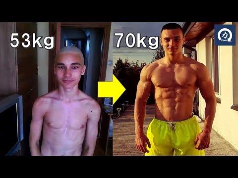 【ビフォーアフター】4年間 自重トレーニングだけを続けた身体の変化【筋トレ】