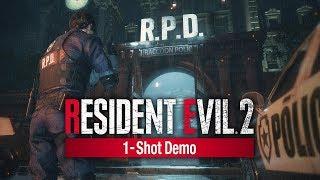 Resident Evil 2 1-Shot Demo Livestream mit Gregor & ??? (PS4)