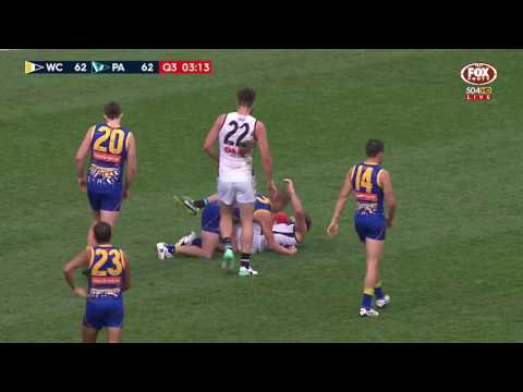 Round 16 AFL - West Coast Eagles v Port Adelaide Power