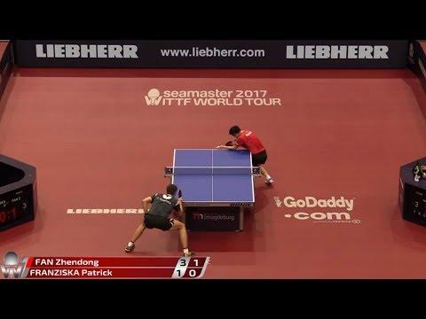 2017 German Open (MS-R32) FAN Zhendong Vs FRANZISKA Patrick [Full match/720p]