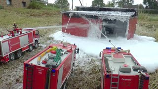 RC HEAVY BIG FIRE !!! HUGE RC FIRE!!! BIGGEST RC FIRE TRUCKS, must see! RC CRASH