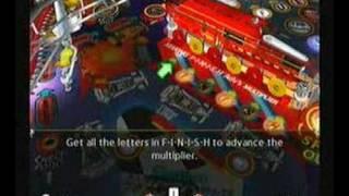 Gottlieb Pinball Classics, Nintendo Wii Gameplay