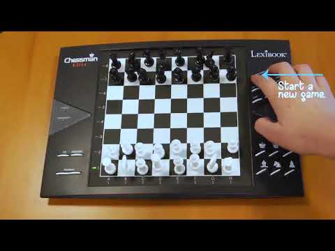 Unboxing CG1300 ChessMan® Elite, Electronic chess game with touch-sensitive keyboard