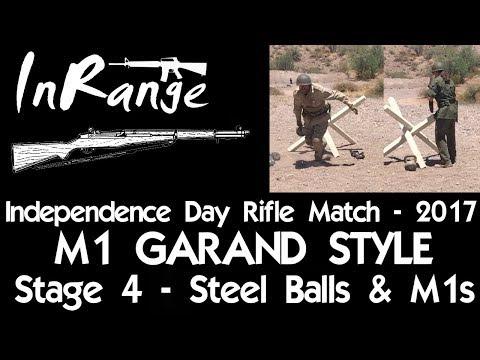 IDARM 2017 - M1 Garand Style - Stage 4 - Steel Balls & M1s