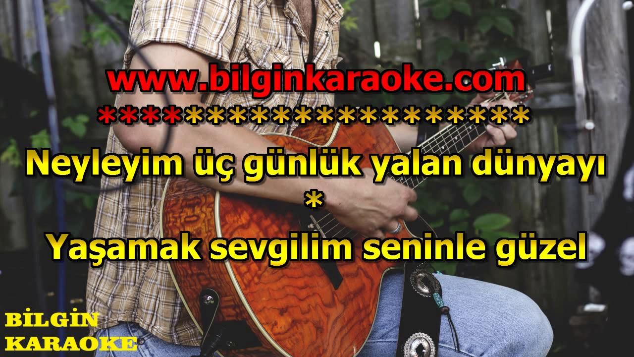 Yıldız Tilbe - Yaşamak Seninle Güzel (Karaoke) Türkçe