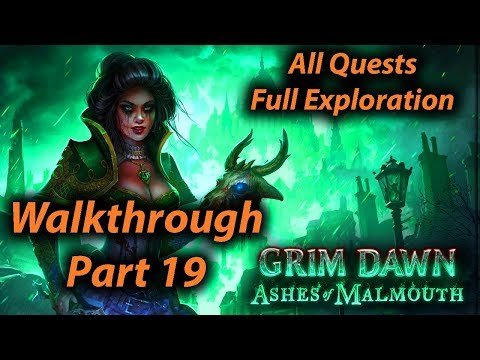 Grim Dawn Walkthrough Part 19 - Bastion of Chaos (All Quests + Full Exploration + Expansion)