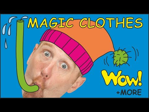 Magic Clothes + MORE Clothes Stories from Steve and Maggie | Learn English speaking | Wow English TV