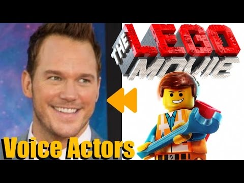 """The LEGO Movie"" (2014) Voice Actors and Characters"