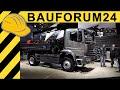 Mercedes-Benz Atego 1530 4x4 LKW Baustellen Kipper - Walkaround bauma 2016 -  4K UHD