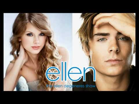 Taylor Swift & Zac Efron - Pumped Up Kicks (Ellen Version on The Ellen Show) [HD Audio]