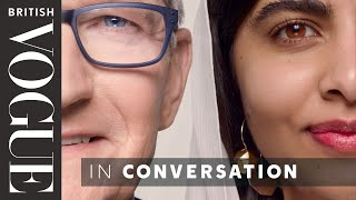 Malala & Apple CEO Tim Cook Talk Life After Covid, Activism & Learning To Code | British Vogue
