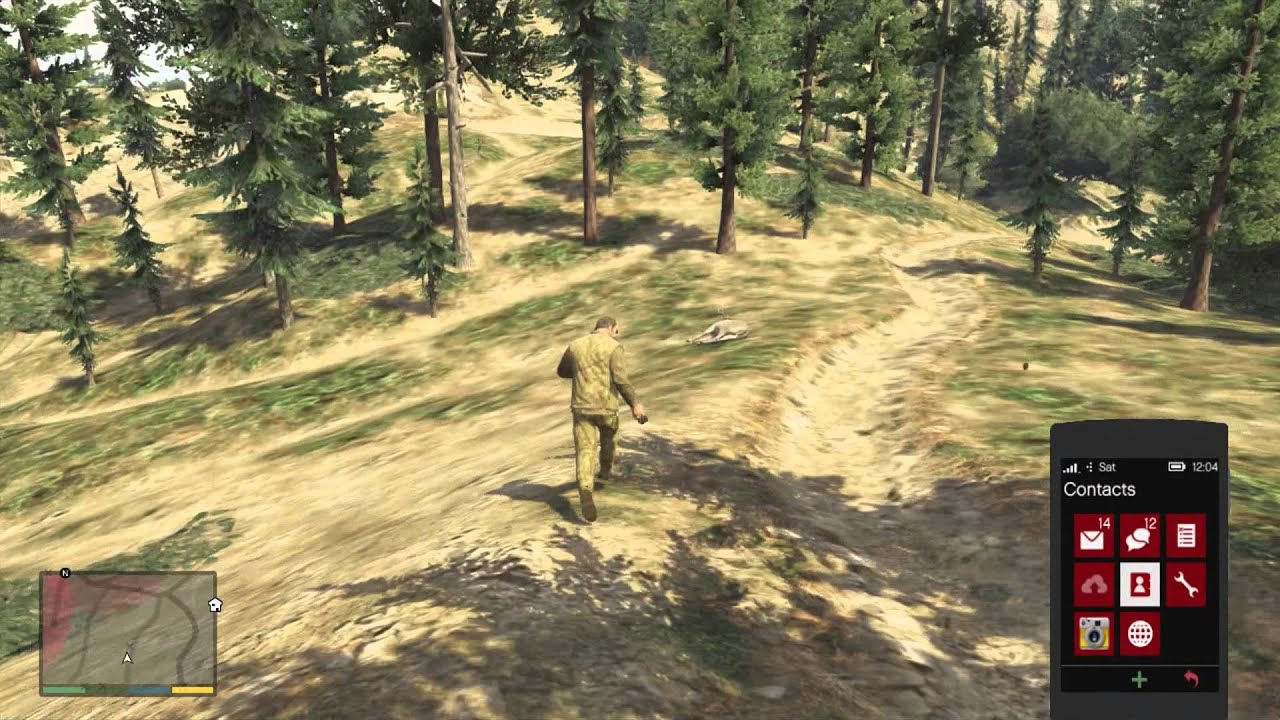 how to become bigfoot in gta 5