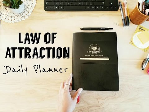Law of Attraction Planner- My Favorite Daily Planner!!