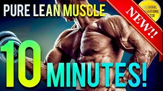 🎧 GAIN 10 POUNDS OF PURE MUSCLE IN 10 MINUTES! SUBLIMINAL AFFIRMATIONS BOOSTER! RESULTS DAILY!