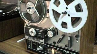Gravador De Fita Magnectica Akai X 201d Com Auto-reverse,anos 70.