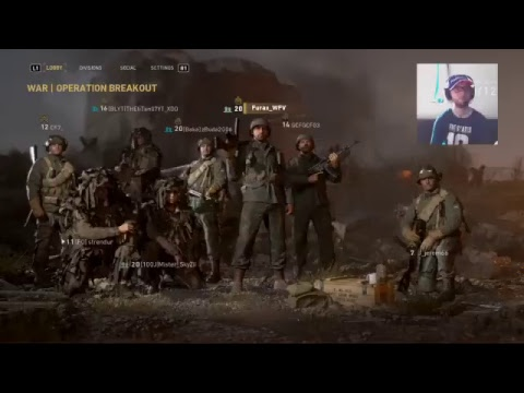 Call Of Duty WWII Private Beta LIVE