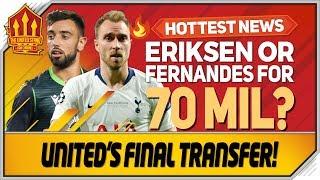 Eriksen, Bruno Fernandes or #Coutinho? Man Utd Transfer News