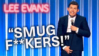 Flying Economy Is A Grueling Experience | Lee Evans