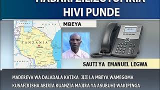 Madereva wa daladala Mbeya wagoma kusafirisha abiria.