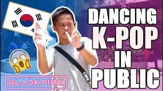DANCING KPOP IN PUBLIC BLACKPINK - '뚜두뚜두 (DDU-DU DDU-DU) l Khryss Kelly
