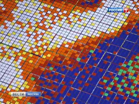 День рождения кубика Рубика: знаменитые полотна собрали из головоломки