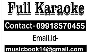 Saathiya Tune Kya Kiya Karaoke With Female Voice